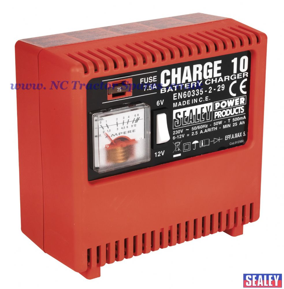 Battery Charger 5Amp 6/12V 230V